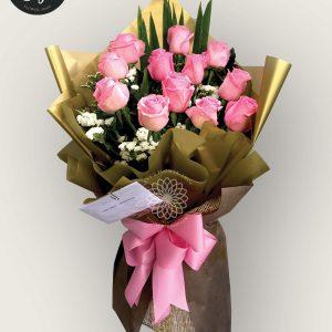 bouquet of bangkok roses 15