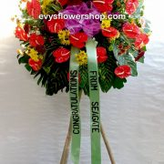 inaugural flower stand 8, inaugural flowers stand, inauguration, opening flowers stand, ribbon cutting flowers stand, flower delivery, flower delivery philippines