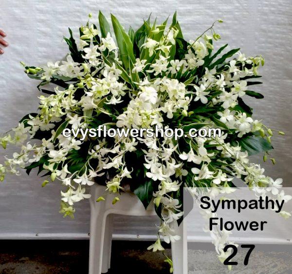 sympathy flower 27