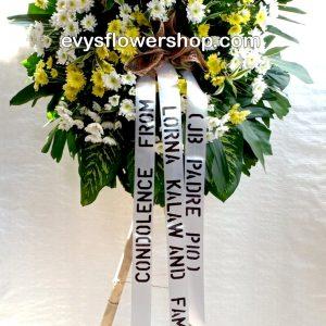 sympathy flower stand 15