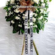 sympathy flower stand 18