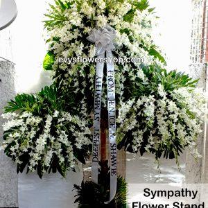 sympathy flower stand 2