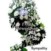 sympathy flower stand 21