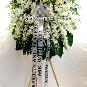 sympathy flower stand 30