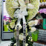sympathy flower stand 31