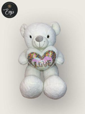 Huggy White Stuffed Toy