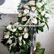 sympathy flower stand 34