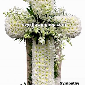 sympathy flower stand 36