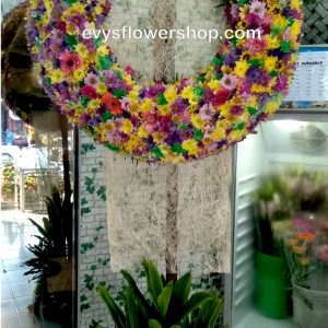 sympathy flower stand 43