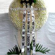 sympathy flower stand 47