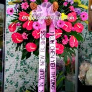 inaugural flower stand 11, inaugural flowers stand, inauguration, opening flowers stand, ribbon cutting flowers stand, flower delivery, flower delivery philippines