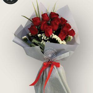 bouquet of bangkok roses 18