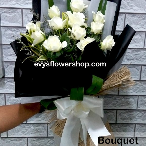 bouquet of roses 10, bouquet, flower delivery, flower delivery philippines