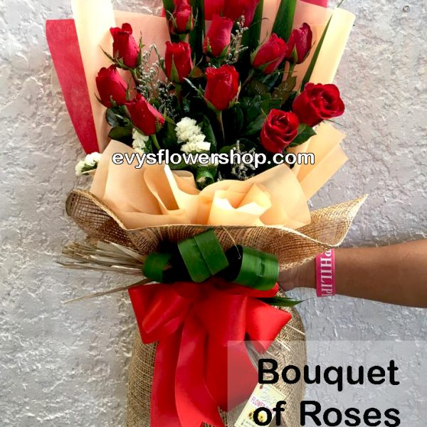 bouquet of roses 11, bouquet, flower delivery, flower delivery philippines