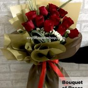 bouquet of roses 13, bouquet, flower delivery, flower delivery philippines