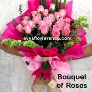 bouquet of roses 15, bouquet, flower delivery, flower delivery philippines