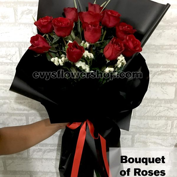 bouquet of roses 16, bouquet, flower delivery, flower delivery philippines