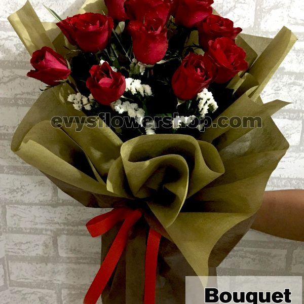 bouquet of roses 18, bouquet, flower delivery, flower delivery philippines
