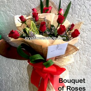 bouquet of roses 21, bouquet, flower delivery, flower delivery philippines