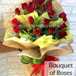 bouquet of roses 24, bouquet, flower delivery, flower delivery philippines