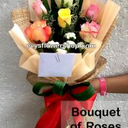 bouquet of roses 3, bouquet, flower delivery, flower delivery philippines