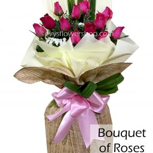 bouquet of roses 30, bouquet, flower delivery, flower delivery philippines
