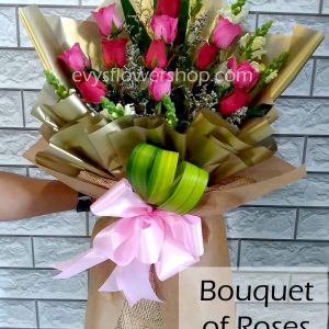 bouquet of roses 6, bouquet, flower delivery, flower delivery philippines