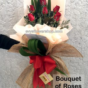 bouquet of roses 8, roses, bouquet, bouquet of roses, flower delivery, flower delivery philippines