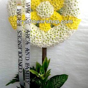 sympathy flower stand 54