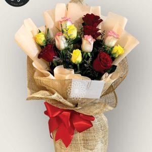 bouquet of bangkok roses 10