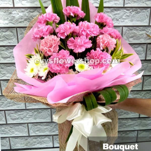 bouquet of carnation 2, bouquet of carnation, carnation, bouquet, flower delivery, flower delivery philippines