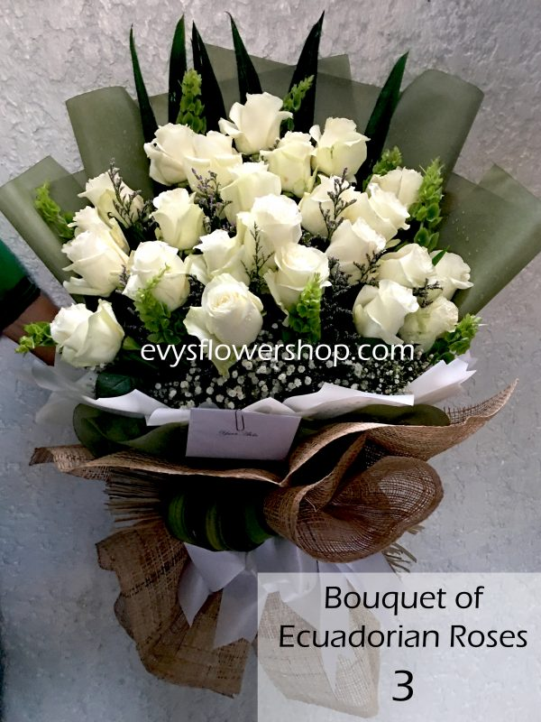 bouquet of ecuadorian roses 3, bouquet of ecuadorian roses, ecuadorian roses, bouquet, flower delivery, flower delivery philippines
