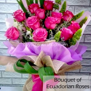 bouquet of ecuadorian roses 4, bouquet of ecuadorian roses, ecuadorian roses, bouquet, flower delivery, flower delivery philippines