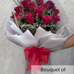 bouquet of ecuadorian roses 5, bouquet of ecuadorian roses, ecuadorian roses, bouquet, flower delivery, flower delivery philippines