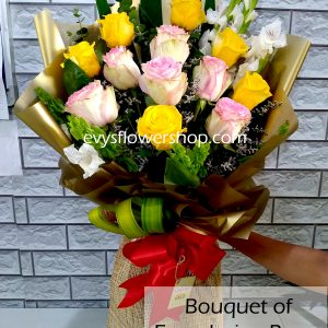 bouquet of ecuadorian roses 7, bouquet of ecuadorian roses, ecuadorian roses, bouquet, flower delivery, flower delivery philippines