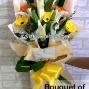 bouquet of gerbera 1, bouquet of gerbera, gerbera, bouquet, flower delivery, flower delivery philippines