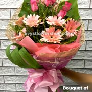 bouquet of gerbera 2, bouquet of gerbera, gerbera, bouquet, flower delivery, flower delivery philippines