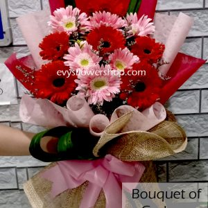 bouquet of gerbera 2, gerbera, bouquet of gerbera, bouquet, flower delivery, flower delivery philippines