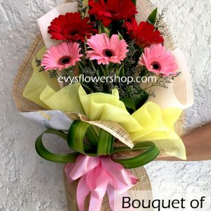 bouquet of gerbera 3, gerbera, bouquet of gerbera, bouquet, flower delivery, flower delivery philippines
