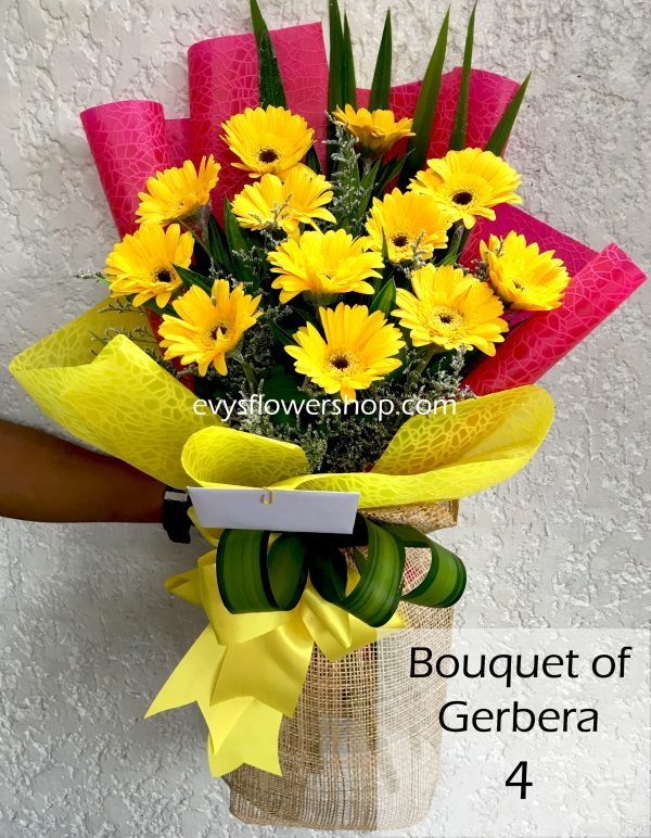 bouquet of gerbera 4, gerbera, bouquet of gerbera, bouquet, flower delivery, flower delivery philippines