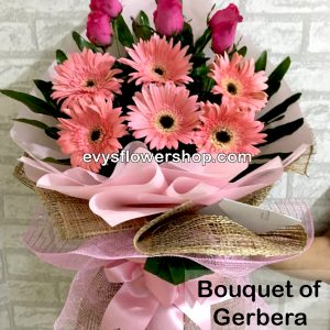 bouquet of gerbera 5, bouquet of gerbera, gerbera, bouquet, flower delivery, flower delivery philippines