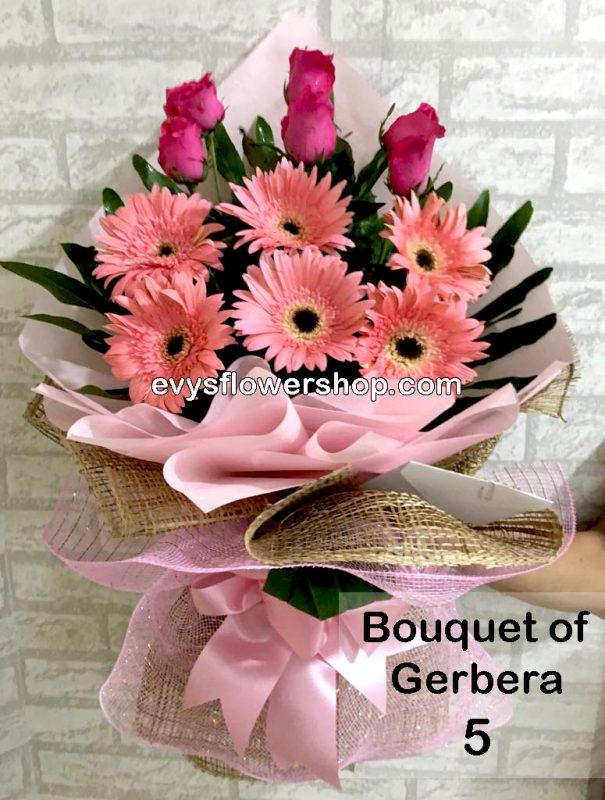 bouquet of gerbera 5, bouquet of gerbera, gerbera, bouquet, flower delivery, flower delivery philippines