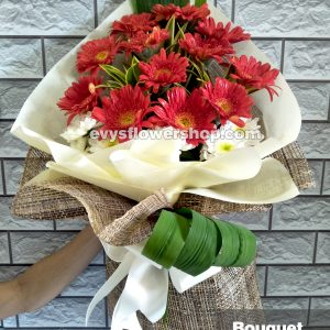 bouquet of gerbera 7, bouquet of gerbera, gerbera, bouquet, flower delivery, flower delivery philippines