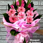 bouquet of gerbera 9, bouquet of gerbera, gerbera, bouquet, flower delivery, flower delivery philippines