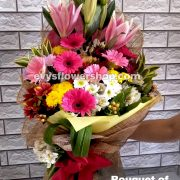 bouquet of mixed flowers 21, bouquet of mixed flowers, spring flowers, bouquet, flower delivery, flower delivery philippines
