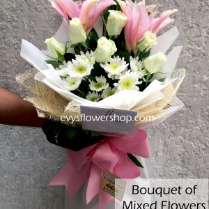 bouquet of mixed flowers 23, bouquet of mixed flowers, spring flowers, bouquet, flower delivery, flower delivery philippines