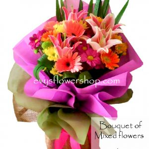 bouquet of mixed flowers 4, bouquet of mixed flowers, spring flowers, bouquet, flower delivery, flower delivery philippines