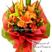 bouquet of mixed flowers 5, bouquet of mixed flowers, spring flowers, bouquet, flower delivery, flower delivery philippines