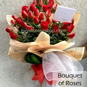 bouquet of roses 35, bouquet, flower delivery, flower delivery philippines