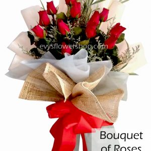 bouquet of roses 37, bouquet, flower delivery, flower delivery philippines